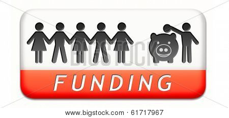 funding fund raising for charity money donation for non profit organization