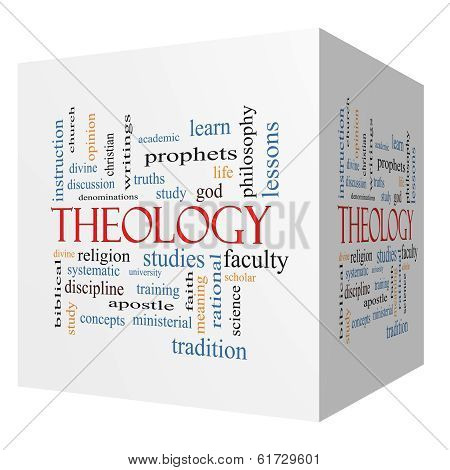 a discussion of theology as the study of god Enhance and deepen your study of god's word christian universalism is a school of christian theology which thank you and god bless, from the christforums.