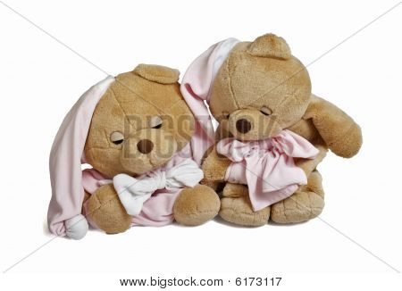 Soft Teddy Bear Couple