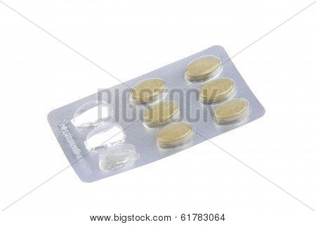Sealed Packaging Drug Tablet