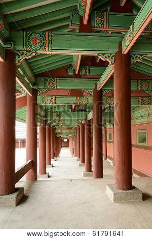 Korean traditional corridor