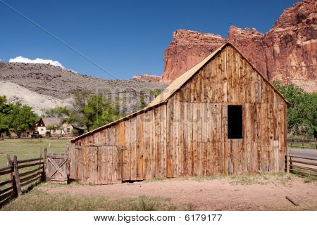 Barn At Capitol Reef National Park