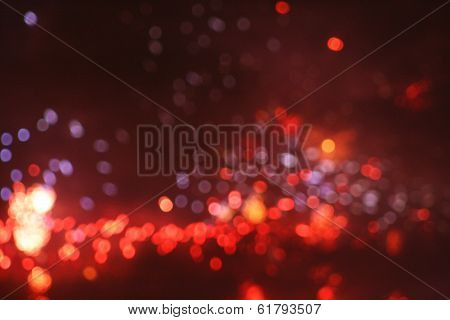 Bokeh of fireworks