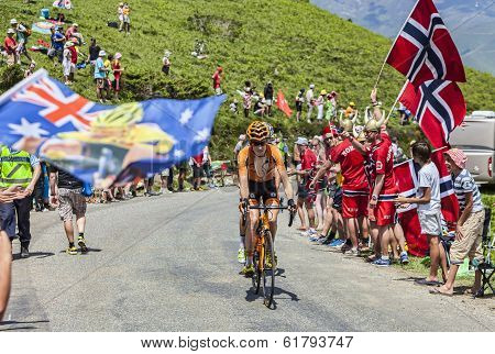 The Cyclist Romain Sicard
