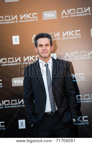 MOSCOW, RUSSIA, May, 13: Director Simon Kinberg. Premiere of the movie