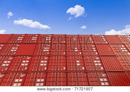 red cargo blocks