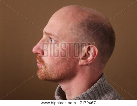 Portrait Male Man Profile