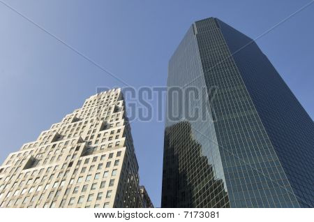 Two Skyscrapers In New York