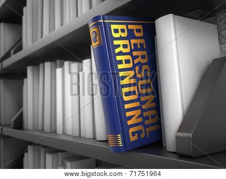 Personal Branding - Title of Book.