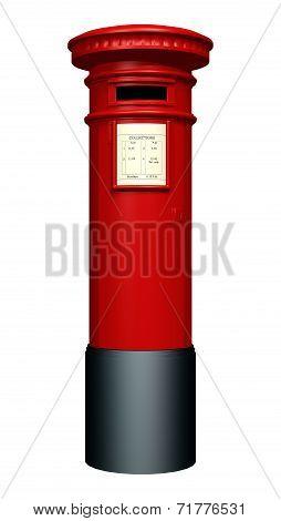 Red Pillar Box