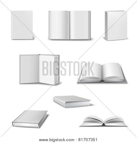 Realistic Book Set