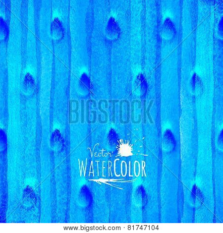 blue watercolor texture, abstract hand drawn sea or winter snow illustration