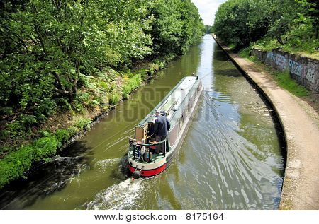 Barge on Canal