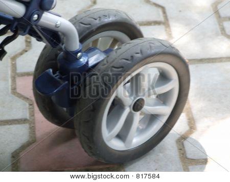 wheels closup