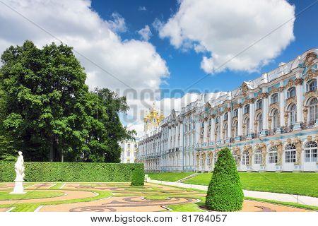 Katherine's Palace Hall In Tsarskoe Selo (pushkin).