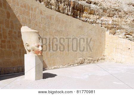Statue Of Queen Hatshepsut . Luxor .egypt