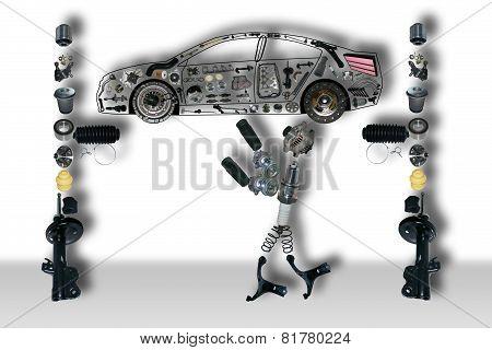 Mechanic of new parts