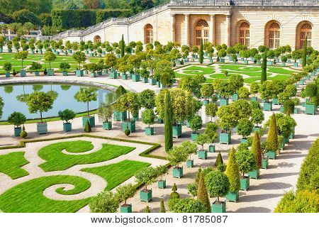 Palace Versailles, Royal Orangery.paris, France