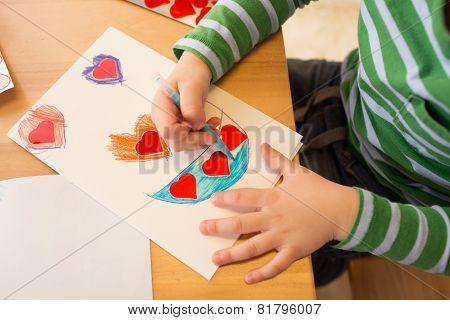 Valentine's Day Crafts, Art