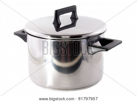 Saucepan , On White Background.isolated