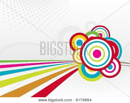 abstract wave background for vector layout