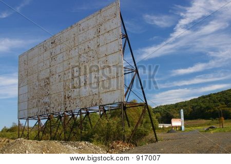 Abandoned Drive-In Theatre