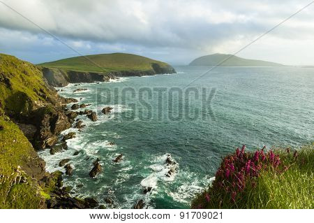 Cliffs On Dingle Peninsula