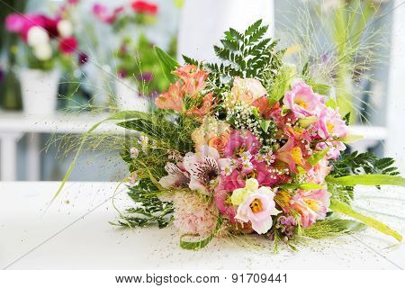 The Fruity And Rich Colors In The Single Boquet
