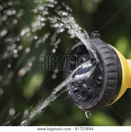Device Of Irrigation Of Garden.