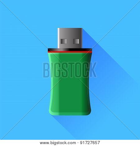 Green Memory Stick