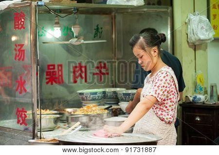 Muslim Street, Xian, China