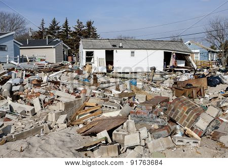 Hurricane Sandy Destruction At Breezy Point - Photo 4