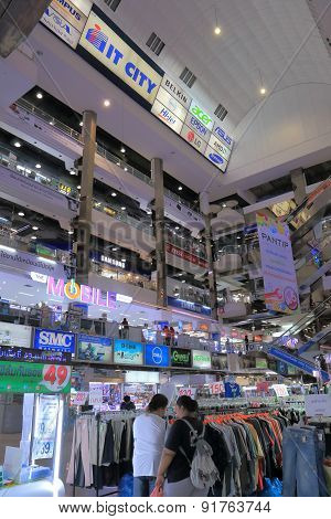 Electronics shopping mall Bangkok