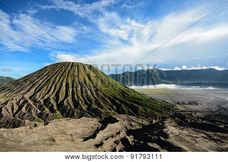 Batok Volcano On East Java, Indonesia