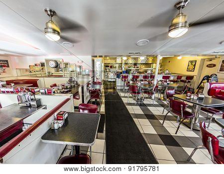 Johnny Rockets Restaurant At Ocean Drive 728 In Miami,