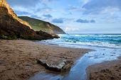 Rocky coastline at Slea Head on Dingle Peninsula Ireland poster