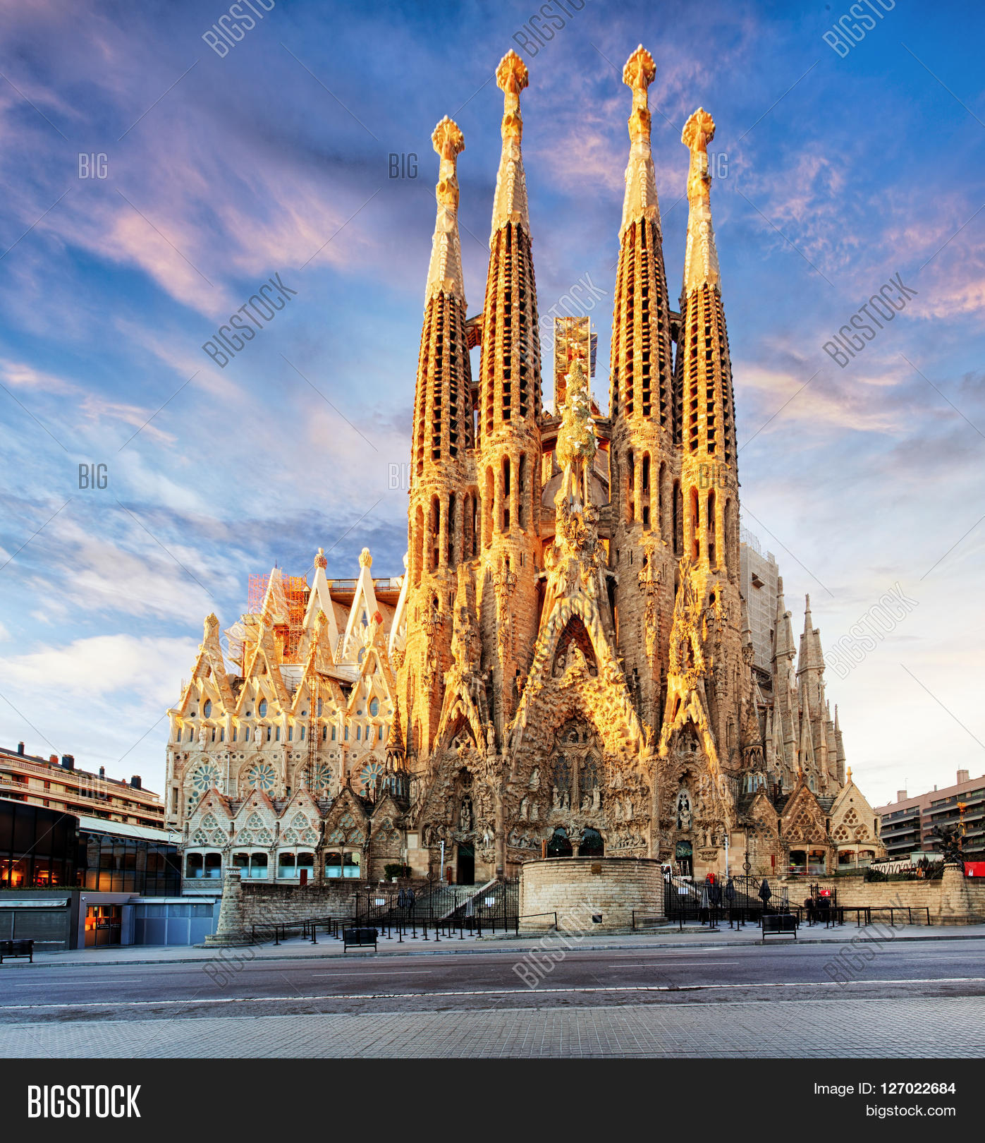 Barcelona Spain Feb Image Photo