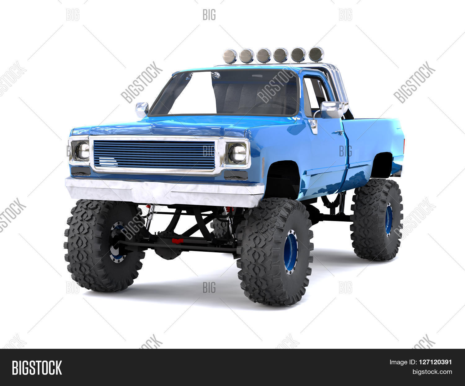 Large blue pickup image photo free trial bigstock a large blue pickup truck off road full off road training highly publicscrutiny Images