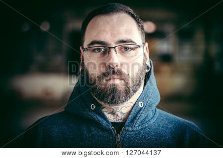 Man With Piercing