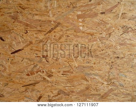 Texture Of Oriented Strand Board Panel