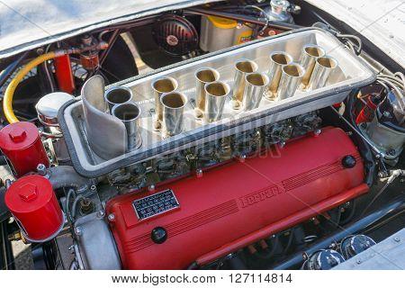 Ferrari 250 Tr V-12 Engine