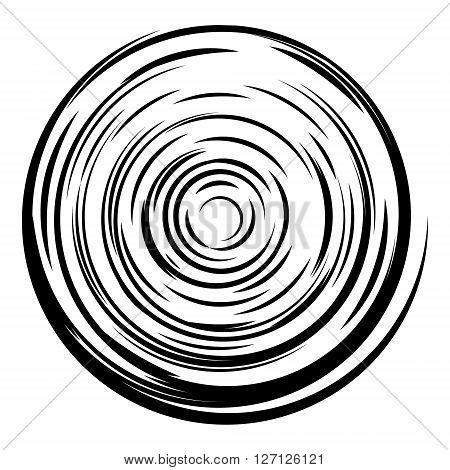 Abstract circle background. Radial lines background. Comic book vector explosion. Design element in vector.
