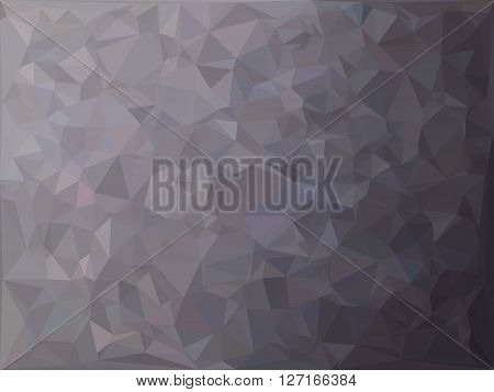 Abstract blue grey dark background poly vector image