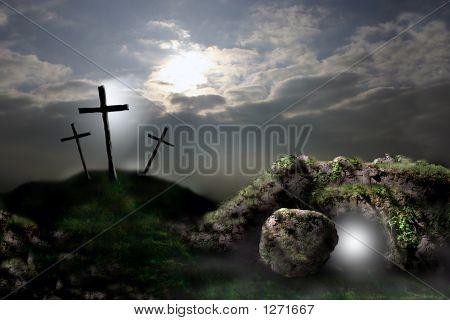 Kreuzigung und die Auferstehung 3