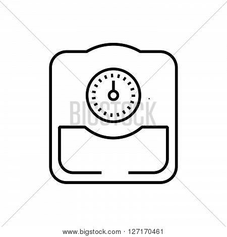 line icon Medical Device Icon Bathroom scales