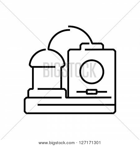line icon Medical Device Icon Dialysis machines