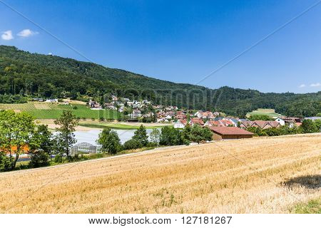 Views Of The Small Village Boppelsen In The Canton Of Zurich