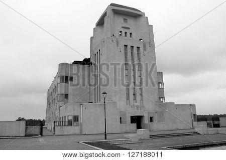 Mysteries Sfinx kathedrale Like Building: Radio Kootwijk