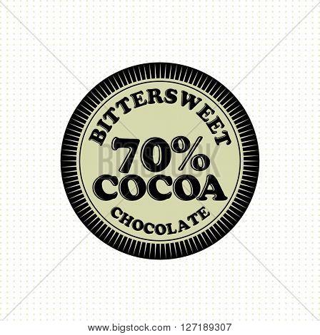 Vintage Chocolate Label
