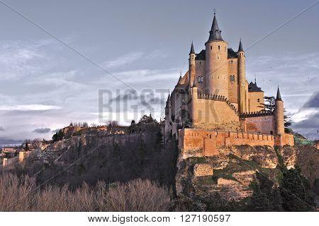 Alcázar of Segovia (Castile and León, Spain)